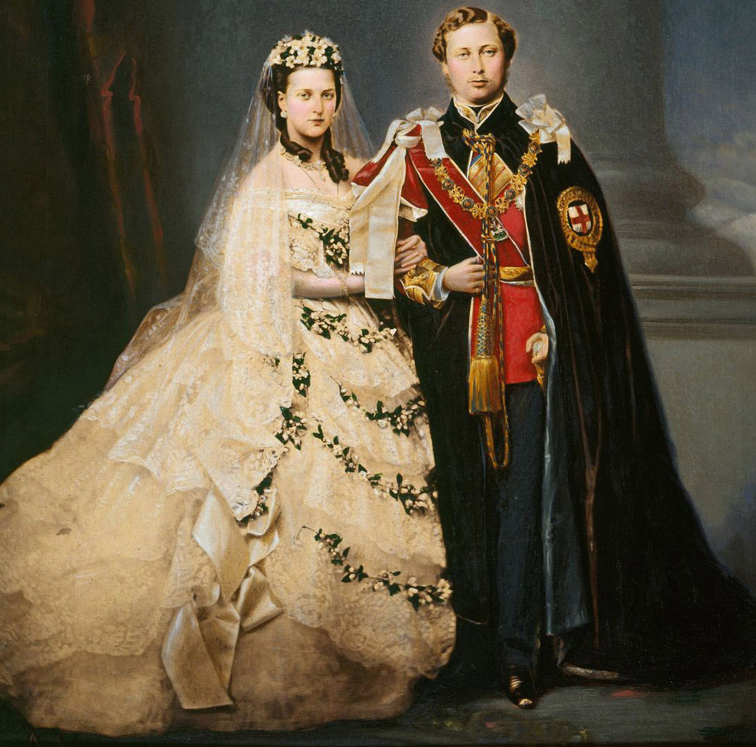 Albert Edward And Alexandra Prince And Princess Of Wales Heirs To